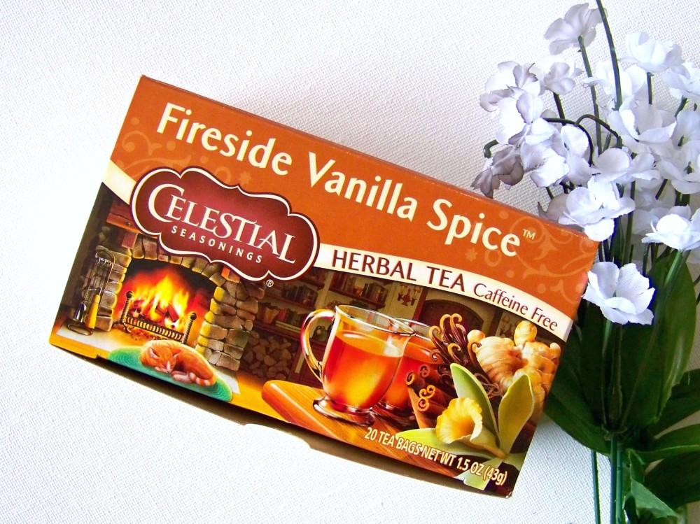 celestial tea fireside vanilla spice